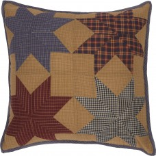 Kindred Star Patchwork Pillow