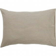 Kendra Black Stripe Pillow Case Set