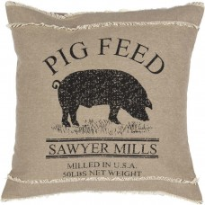 Sawyer Mill Pig Pillow