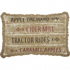 Bingham Star Orchard Sign Pillow
