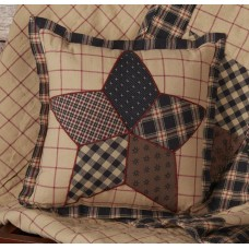 Bingham Star Patch Pillow
