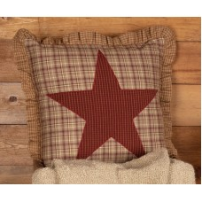 Dawson Star Applique Pillow 18""