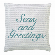 Arielle Seas and Greetings Pillow