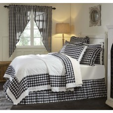 Annie Buffalo Black Check Quilt