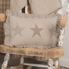 Sawyer Mill Star Charcoal Pillow