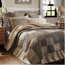 Sawyer Mill Charcoal Quilt