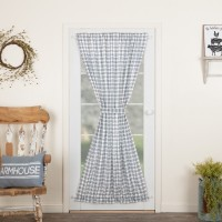 Sawyer Mill Blue Plaid Door Panel