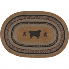 Heritage Farms Sheep Jute Placemat Set