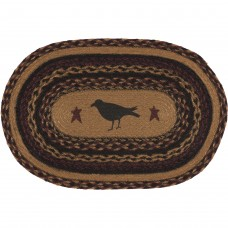 Heritage Farms Crow Jute Placemat Set