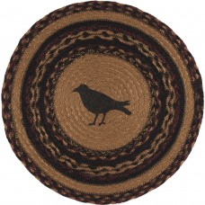 Heritage Farms Crow Jute Tablemat Set of 6