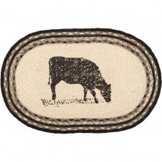 Sawyer Mill Cow Jute Placemat Set