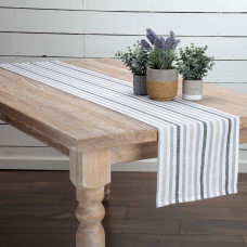 Blake Grey Table Runner