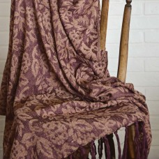 Berkeley Chenille Jacquard Woven Throw