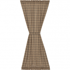 Sawyer Mill Charcoal Plaid Door Panel