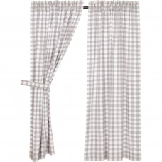 Annie Buffalo Grey Check Short Panel Set