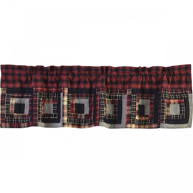 Cumberland Patchwork Valance 60 Quot By Vhc Brands
