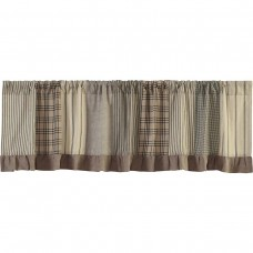 Sawyer Mill Patchwork Valance 72""