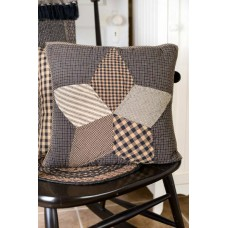Farmhouse Star Pillow Quilted