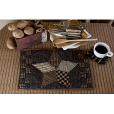 Farmhouse Star Quilted Placemat Set