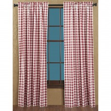 Buffalo Red Check Short Panel Set