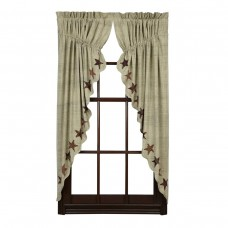 Abilene Star Prairie Curtain Set